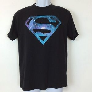 Superman DC Comics Graphic Galaxy Tee Sz Med